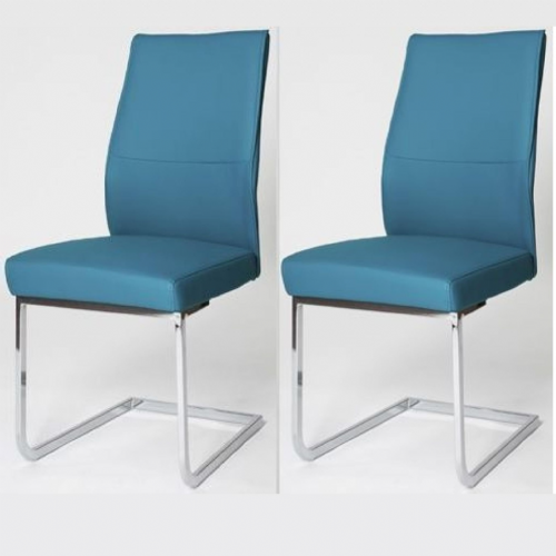 Home Essential  AES  Chairs Blue (Pair)